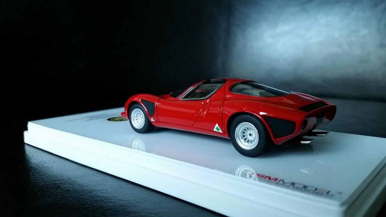 October THE DESKTOP CONCOURS - Alfa romeo scale models